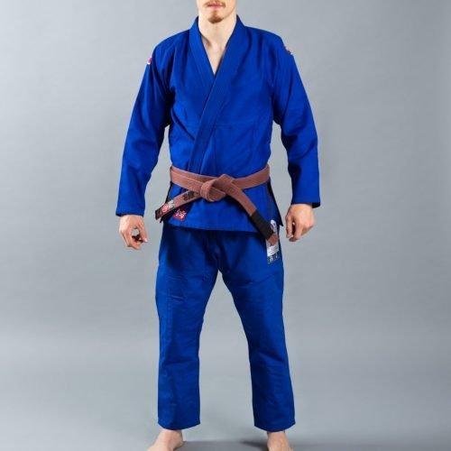 Scramble Athlete 4 Kimono Bjj Gi Blue 375