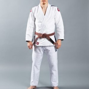 Scramble Athlete 4 Kimono BJJ Gi White 450