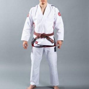 Scramble Athlete 4 Kimono Bjj Gi White 550+