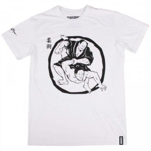 Tatami Samurai Wrestling T-Shirt White