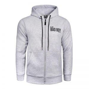Bad Boy Crossover Hoodie Grey