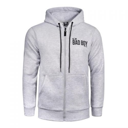 Bad Boy Crossover Hoodie Grey