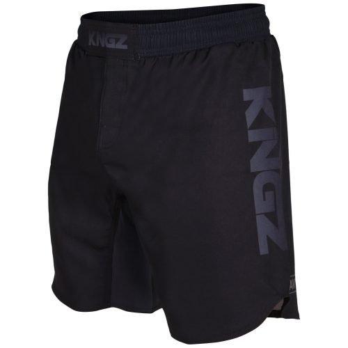 Kingz Crown Competition Shorts Black on Black