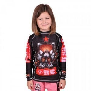 Tatami Meerkatsu Red Panda Kids Rash Guard