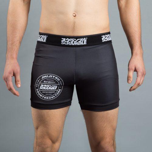 Scramble Roundel Vale Tudo Shorts Black