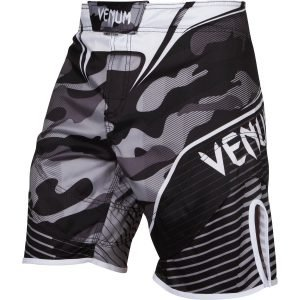 Venum Camo Hero Fight Shorts White Black
