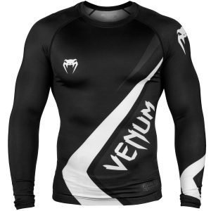 Venum Contender 4.0 Long Sleeve Rash Guard Black