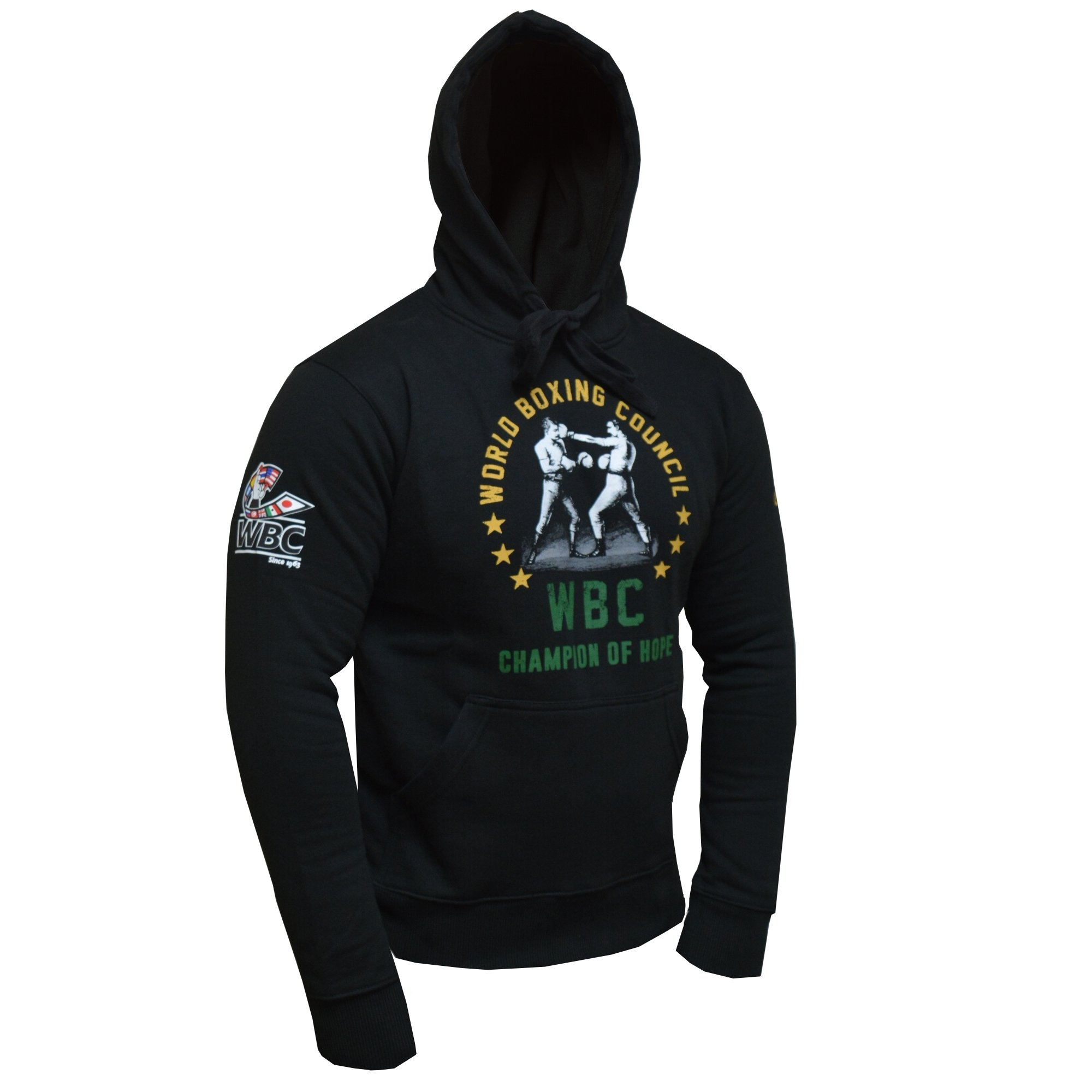 huge selection of 31715 4c84a Adidas WBC Boxing Hoodie Black