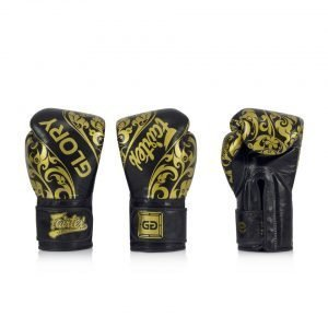 BGVG2 Fairtex X Glory Black Limited Edition Gloves