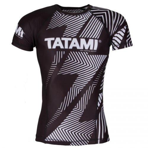 Tatami IBJJF Rash Guard Rank White Short Sleeve
