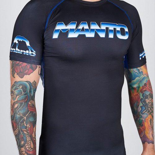 Manto Chrome Rash Guard Short Sleeve