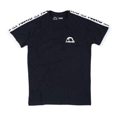 Manto T-Shirt Stripe Black