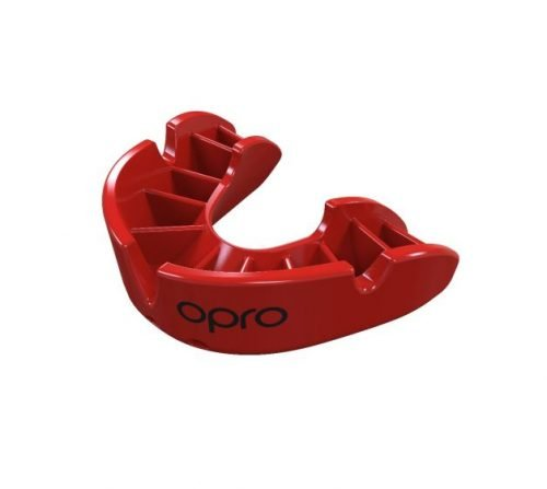 OPRO Mouth Guard Gen4 Bronze Series Self Fit Red