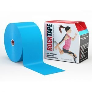 RockTape Kinesiology Tape 10cm x 32m Electric Blue