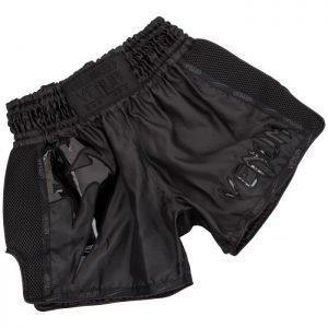 Venum Muay Thai Shorts Giant Black On Black