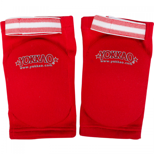 Yokkao Elbow Guard Red Cotton