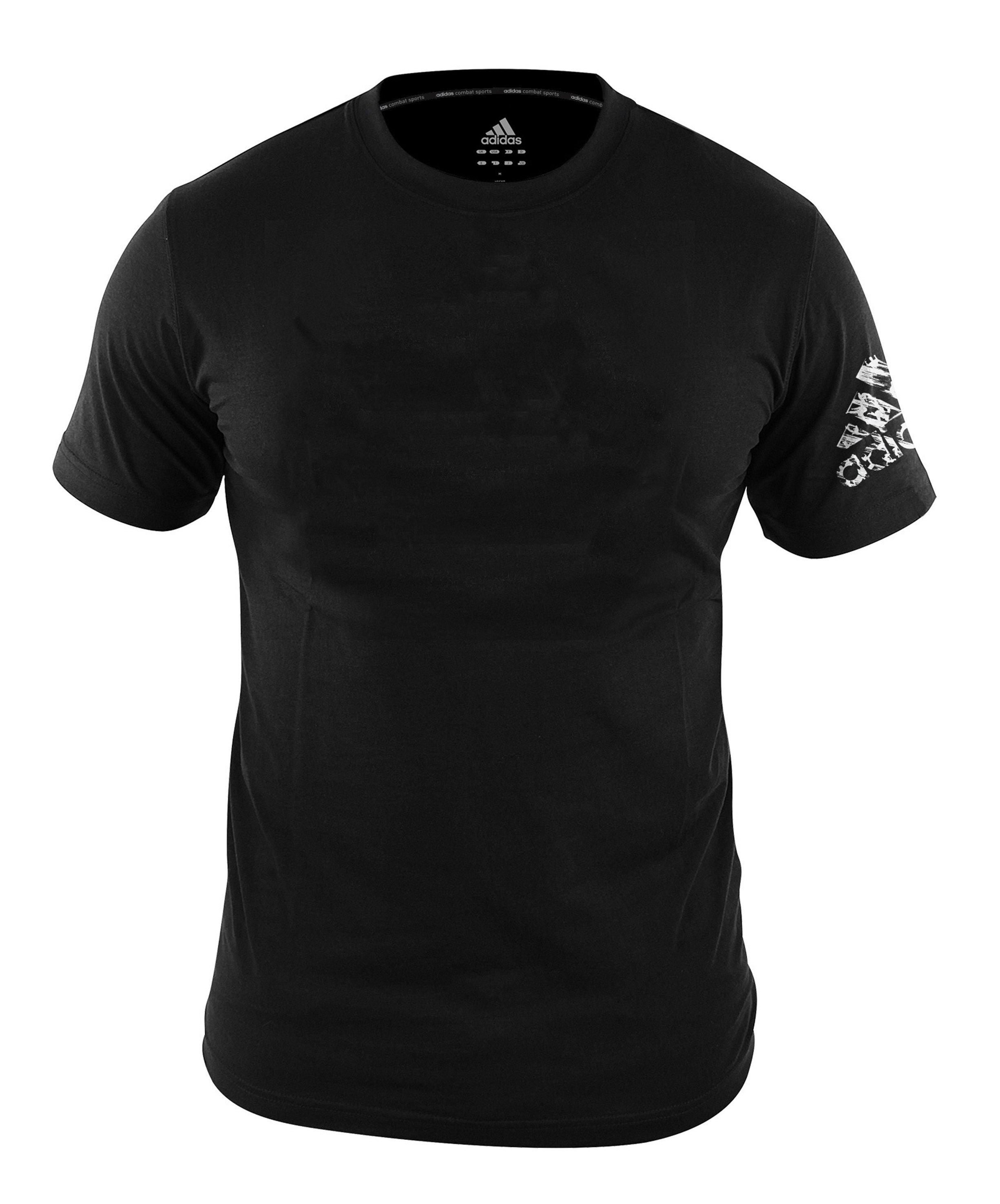 design de qualité f02ba bb843 Adidas Plain Promo T-Shirt Black
