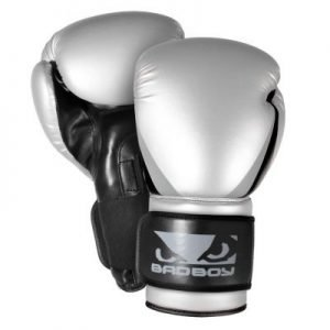 Bad Boy Training Series 2.0 Silver Boxing Gloves