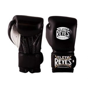 Cleto Reyes Wrap Around Velcro Sparring Gloves Black