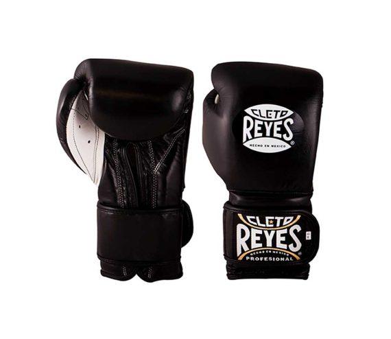 Cleto Reyes Wrap Around Velcro Sparring Gloves Black