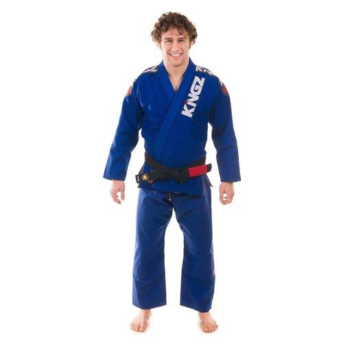 Kingz Kimonos Ultralight Blue BJJ Gi