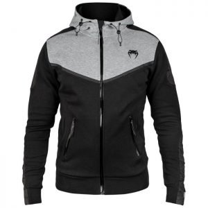 Venum Laser Evo Hoodie Black/Heather Grey