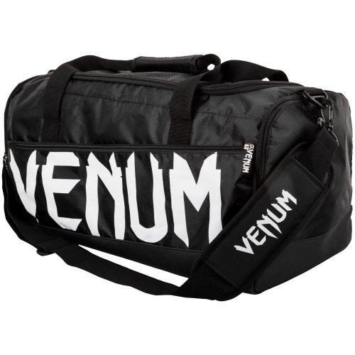 Venum Sparring Bag Holdall Black White