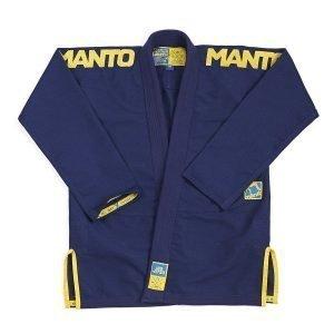 Manto X3 BJJ Gi Navy Gold