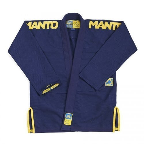 Manto X3 BJJ Gi Navy Gold