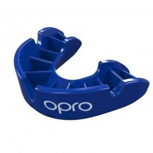 OPRO Mouth Guard Gen4 Bronze Series Self Fit Blue