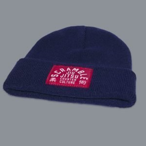 Scramble Jiu Jitsu Counter Culture Beanie Navy