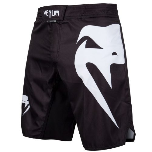 Venum Light 3.0 Fight Shorts Black White