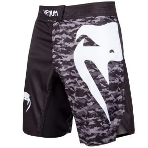Venum Light 3.0 Fight Shorts Black Urban Camo