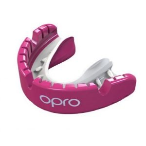 OPRO Gen 4 Gold Level Braces Pink Pearl Mouth Guard