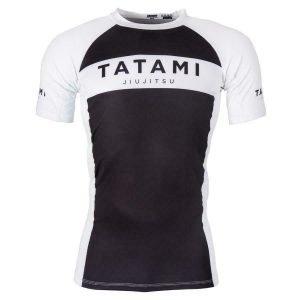 Tatami Original Rash Guard Short Sleeve Black White