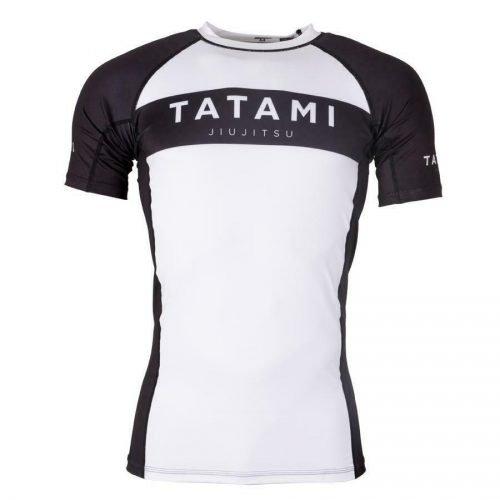 Tatami Original Rash Guard Short Sleeve White Black