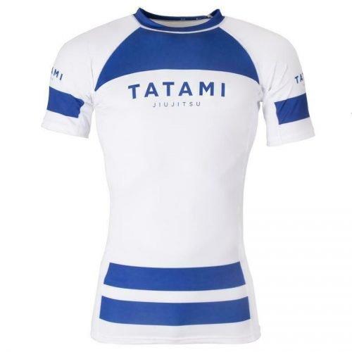 Tatami Original Rash Guard Short Sleeve Navy White
