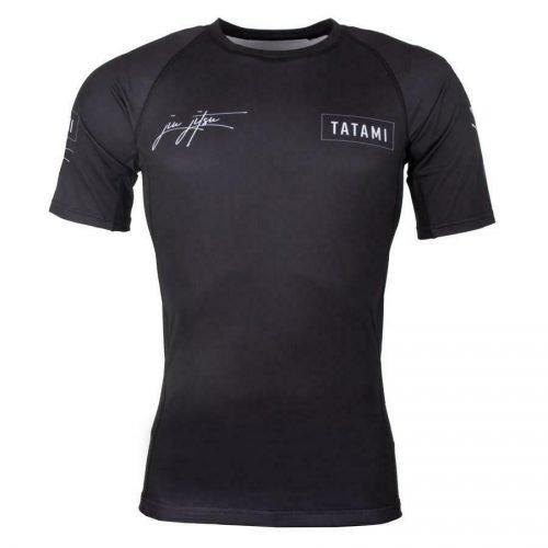 Tatami Signature Rash Guard Short Sleeve Black