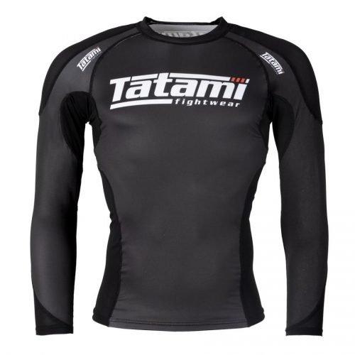 Tatami Technical Rash Guard Black Long Sleeve