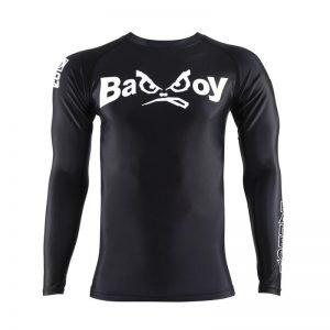 Bad Boy Retro Rash Guard Black