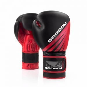 Bad Boy Training Series Impact Boxing Gloves Black Red