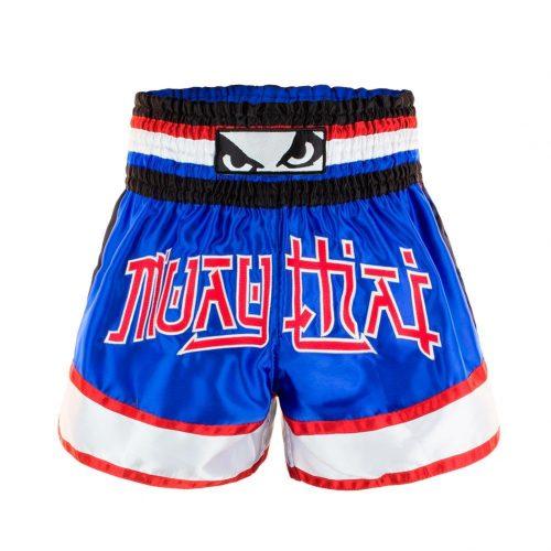 Bad Boy Kao Loy Muay Thai Shorts Blue