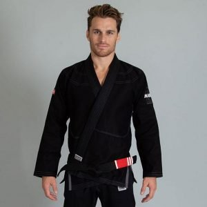 Maeda Red Label BJJ Gi Black