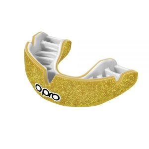 OPRO Mouth Guard Power Fit Galaxy Shimmer Gold