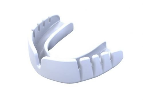 OPRO Adult Mouth Guard Snap Fit White