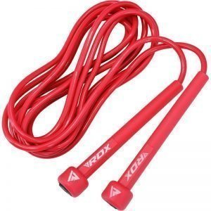 RDX C10 Skipping Rope Red - boxing skipping rope