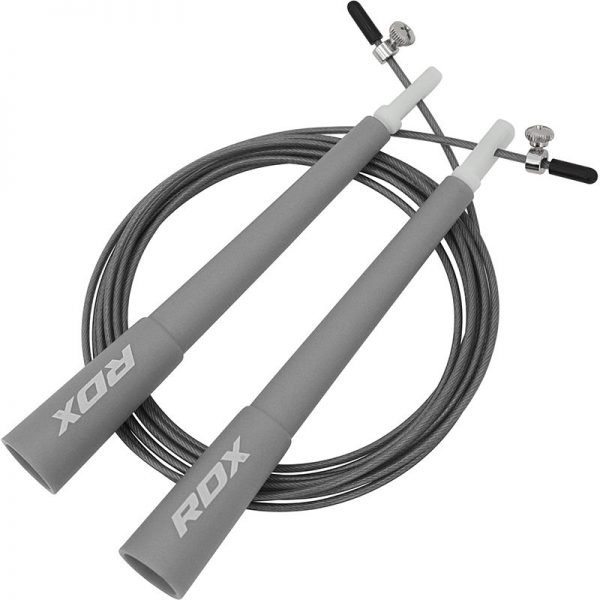 RDX C8 Skipping Rope Grey