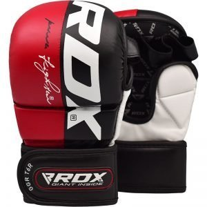 RDX T6 MMA Grappling Gloves Red