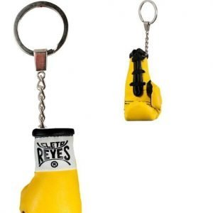 Cleto Reyes Boxing Glove Yellow Key Chain
