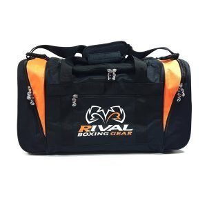 Rival RGB20 Gym Bag Black Orange